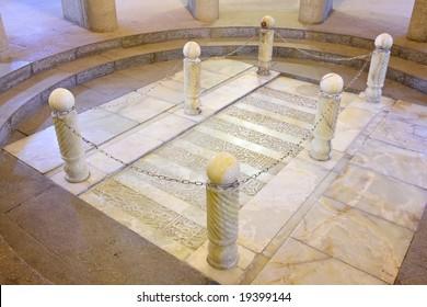 Avicenna's tomb in Hamedan, Iran