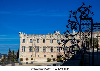 AVIGNON, FRANCE - MARCH, 2018: Museum of the small Palace in Avignon France