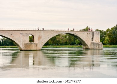 Avignon in Provence View on city of Popes Palace