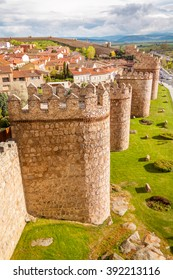Avila is located in Castilla y Leon, Spain. It features one of the highest number of Romanesque and Gothic churches in the country. The walls of the medieval city are still intact.