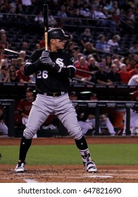 Avisail Garcia right fielder for the Chicago White Sox at Chase Field in Phoenix Arizona USA May 24,2017.