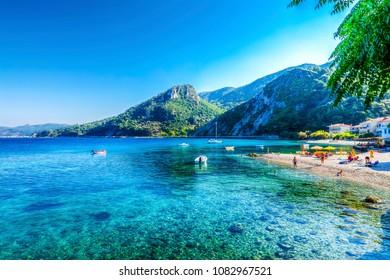 Avlakia in Samos Island, Greece