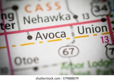 Avoca. Nebraska. USA
