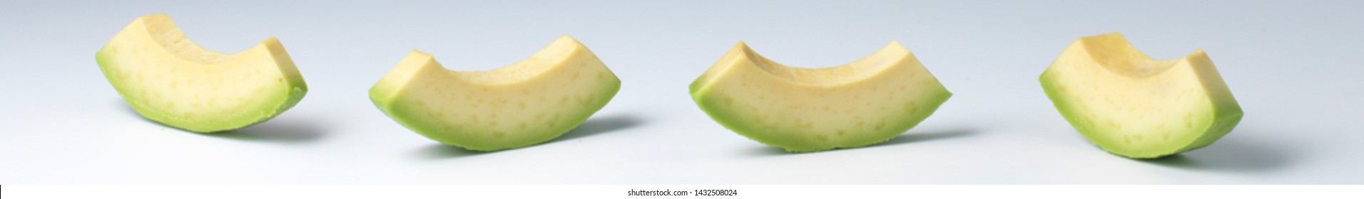 avocado green with real shadows