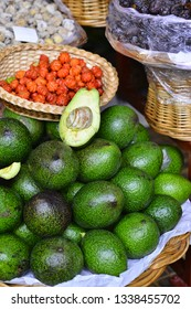 Avocado Madeira traditional&tropical fruits
