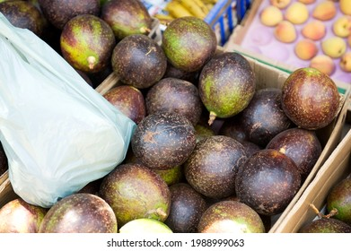 Avocados for sale at a roadside vender.  Durban, South Africa.