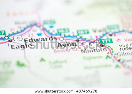 Avon Colorado Usa Stock Photo Edit Now 487469278 Shutterstock