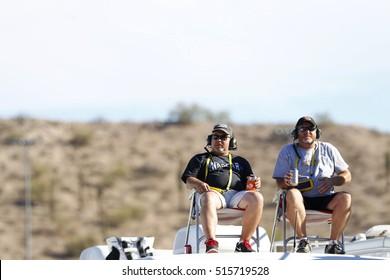 Avondale, AZ - Nov 13, 2016: Fans enjoy the racing action during the Can-Am 500(k) at the Phoenix International Raceway in Avondale, AZ.