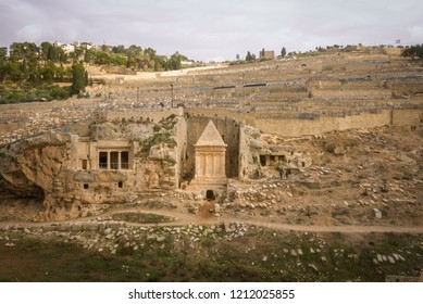 Avshalom Tomb at the Mount of Olives, Jerusalem