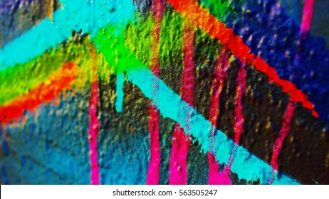 Awesome colorful paint background with high contrast