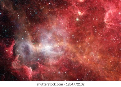 Awesome of deep space. Billions of galaxies in the universe. Elements of this image furnished by NASA.