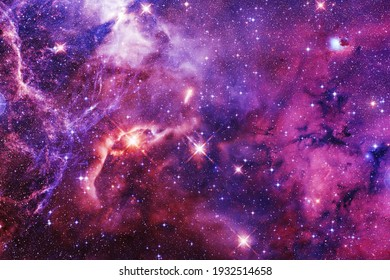 Awesome of endless cosmos. Science fiction wallpaper. Elements of this image furnished by NASA. - Shutterstock ID 1932514658