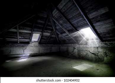 Awesome horror attic