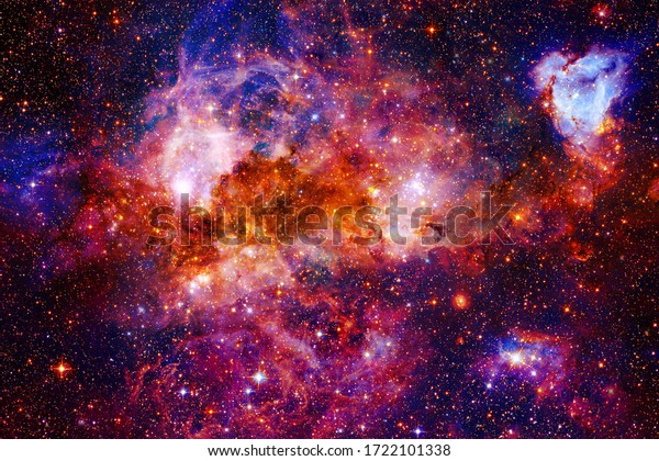 Awesome space background. Elements of this image furnished by NASA.