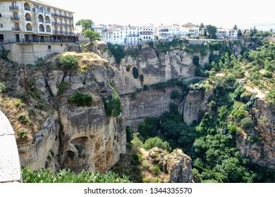 Awesome terrain in Ronda, Spain
