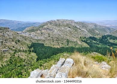 Awesome view from Cruz de Juanar in Spain