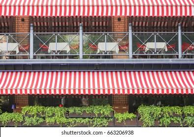 Awning restaurant
