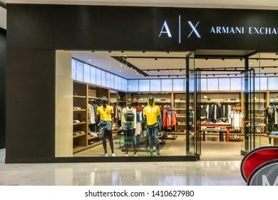 cb8a6874 A|X Armani Exchange at Emquartier Thailand, Apr 25, 2019 : Luxury and