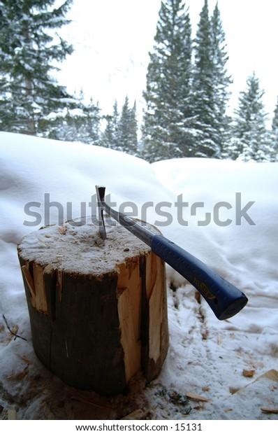 Axe in Aspen Colorado