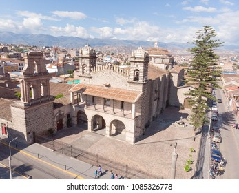 AYACUCHO, PERU: SAnto Domingo church, in the down town of Ayacucho.