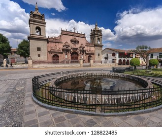 Ayacucho, Peru: view of one of the ayacucho churchs