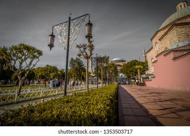 Ayasofya Hagia Sophia Museum Mosque Streets of İstanbul Turkey 05/14/2018