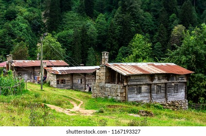 Ayder Plateau old house,Rize,Turkey