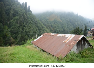 Ayder Plateau, Rize, Turkey. The Ayder Valley lies between Rize and Artvin.A popular destination for summer tourism.