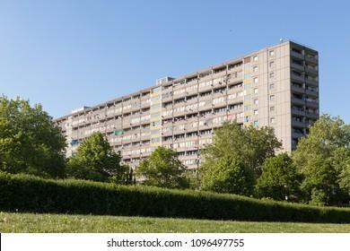 Aylesbury Estate, South London,