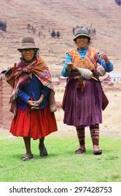 Aymara women