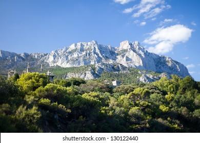 Ay-Petri mountain.Alupka, Crimea, Ukraine