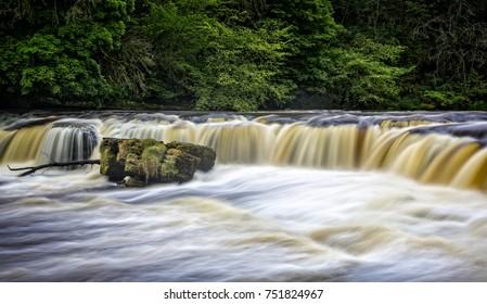 Aysgarth Falls, Wensleydale, Yorkshire on 15 May 2017