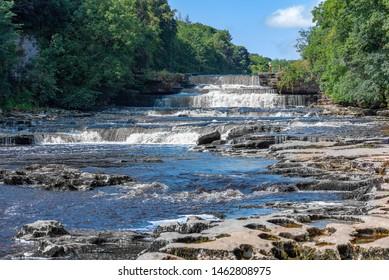 Aysgarth Falls in the Yorkshire Dales, UK