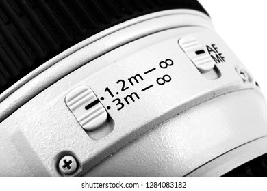 Aytos, Bulgaria - September 27, 2013: Canon EF 70-200mm f/4L USM Lens. Canon Inc. Is A Japanese Multinational Corporation Specialized In The Manufacture Of Imaging And Optical Products.