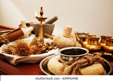Ayurveda herbal and oil treatment equipment