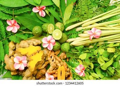 Ayurveda Indian medicine, herbal massage bags