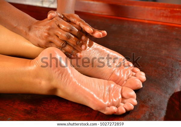 Asian massage oil view