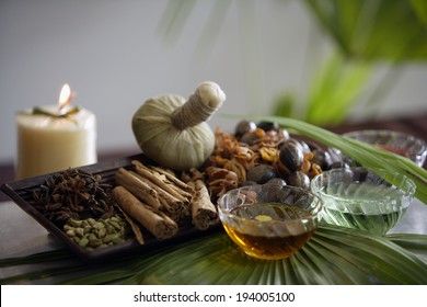 Ayurvedic massage products