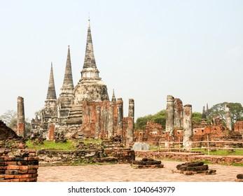 Ayutthaya former capital of the Kingdom of Siam