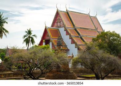 Ayutthaya, Japanese style temple