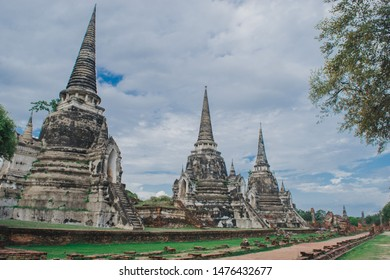 Ayutthaya Old City Atd was once the capital of Thailand.