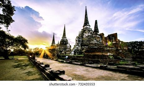 Ayutthaya Old Town thailand HDR