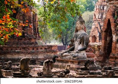 Ayutthaya ruins, Thailand