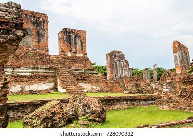 Ayutthaya Thailand. Ancient City and historical place.