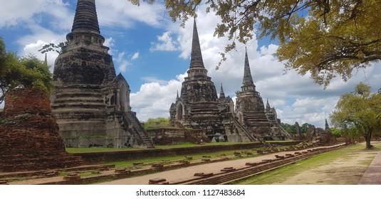 Ayutthaya thailand bhudda