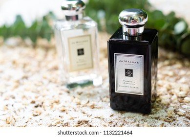 Ayutthaya, Thailand - July 10, 2018: , Jo Malone London Tuberose Angelica Cologne