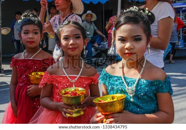 Wedding March 3.Ayutthaya Thailand March 3 2018 Wedding Stock Photo Edit