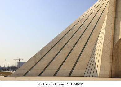 azadi tower architectural feature in tehran Iran