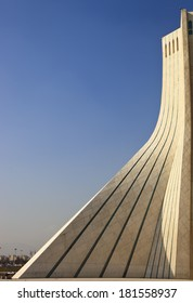 azadi tower architectural feature in tehran Iran