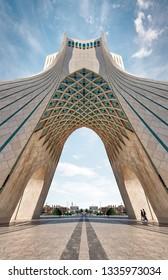 Azadi Tower in Tehran, Iran, taken in January 2019 taken in hdr